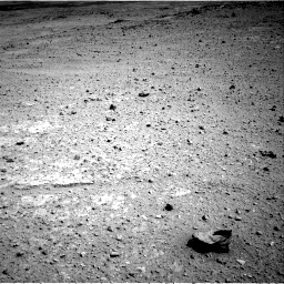 Nasa's Mars rover Curiosity acquired this image using its Right Navigation Camera on Sol 419, at drive 1152, site number 18