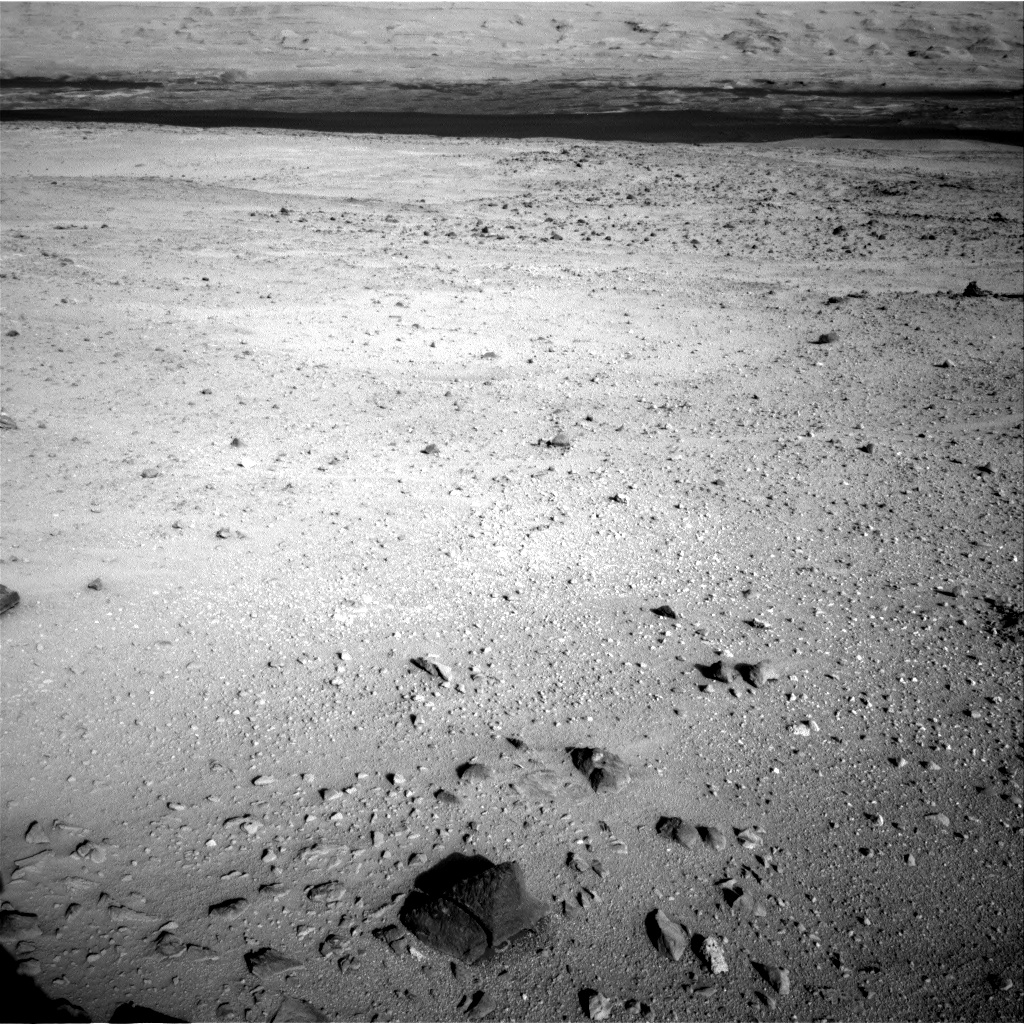 Nasa's Mars rover Curiosity acquired this image using its Right Navigation Camera on Sol 419, at drive 0, site number 19