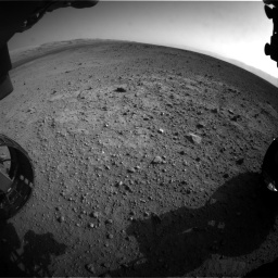 Nasa's Mars rover Curiosity acquired this image using its Front Hazard Avoidance Camera (Front Hazcam) on Sol 422, at drive 300, site number 19