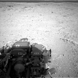 Nasa's Mars rover Curiosity acquired this image using its Left Navigation Camera on Sol 422, at drive 210, site number 19