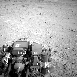 Nasa's Mars rover Curiosity acquired this image using its Left Navigation Camera on Sol 422, at drive 300, site number 19
