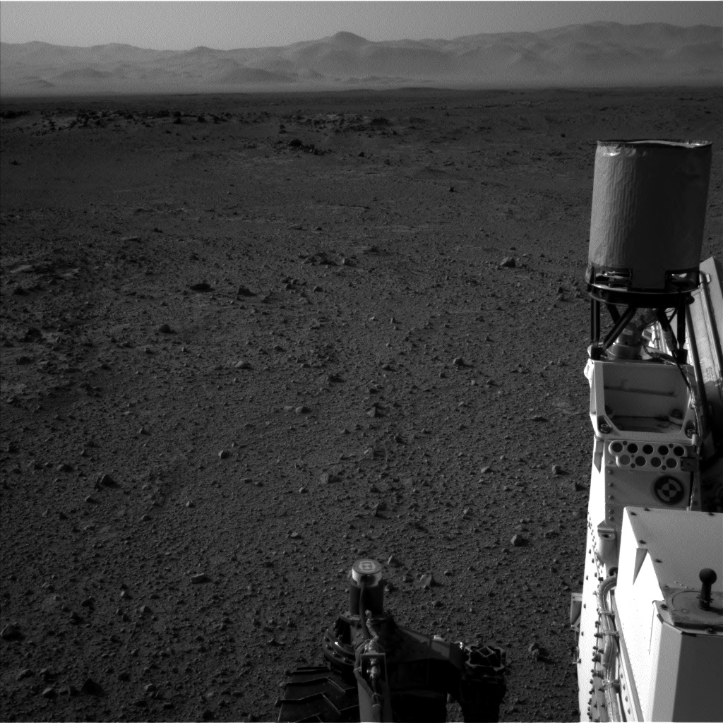 Nasa's Mars rover Curiosity acquired this image using its Left Navigation Camera on Sol 422, at drive 320, site number 19