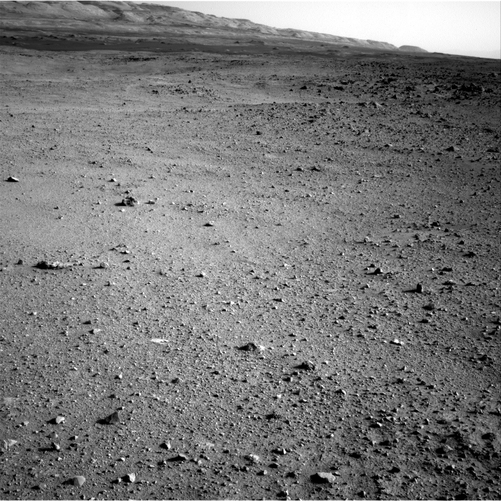 Nasa's Mars rover Curiosity acquired this image using its Right Navigation Camera on Sol 422, at drive 320, site number 19