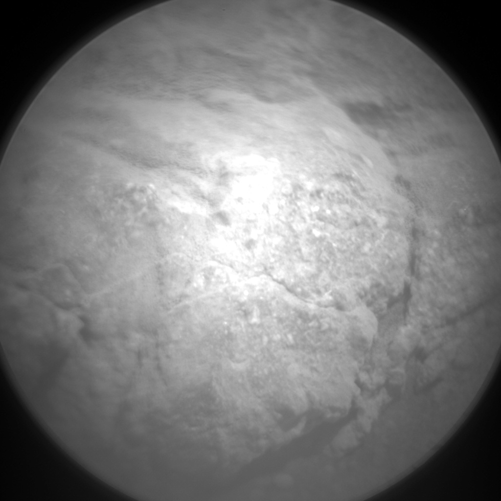 NASA's Mars rover Curiosity acquired this image using its Chemistry & Camera (ChemCam) on Sol 424