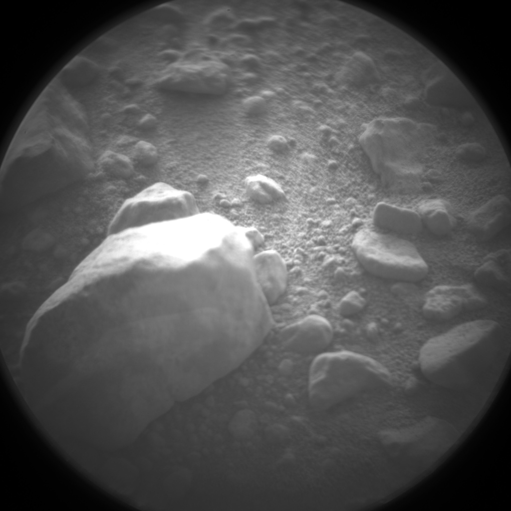 Nasa's Mars rover Curiosity acquired this image using its Chemistry & Camera (ChemCam) on Sol 424, at drive 1066, site number 19