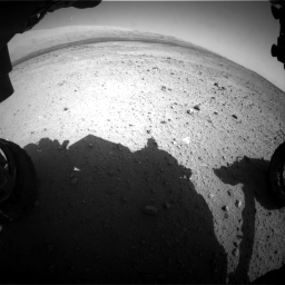 Nasa's Mars rover Curiosity acquired this image using its Front Hazard Avoidance Camera (Front Hazcam) on Sol 424, at drive 548, site number 19
