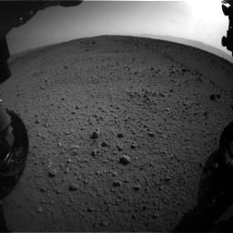 Nasa's Mars rover Curiosity acquired this image using its Front Hazard Avoidance Camera (Front Hazcam) on Sol 424, at drive 998, site number 19