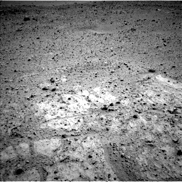Nasa's Mars rover Curiosity acquired this image using its Left Navigation Camera on Sol 424, at drive 338, site number 19