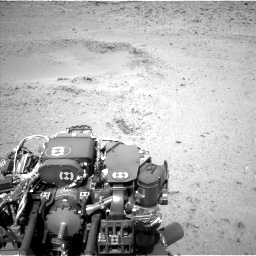 Nasa's Mars rover Curiosity acquired this image using its Left Navigation Camera on Sol 424, at drive 530, site number 19