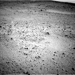 Nasa's Mars rover Curiosity acquired this image using its Left Navigation Camera on Sol 424, at drive 566, site number 19