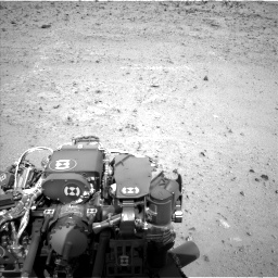 Nasa's Mars rover Curiosity acquired this image using its Left Navigation Camera on Sol 424, at drive 656, site number 19