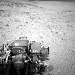 Nasa's Mars rover Curiosity acquired this image using its Left Navigation Camera on Sol 424, at drive 800, site number 19