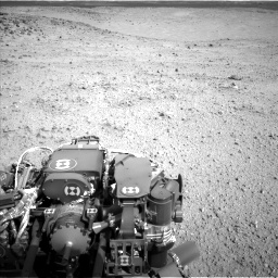Nasa's Mars rover Curiosity acquired this image using its Left Navigation Camera on Sol 424, at drive 836, site number 19