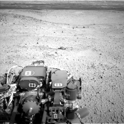 Nasa's Mars rover Curiosity acquired this image using its Left Navigation Camera on Sol 424, at drive 872, site number 19