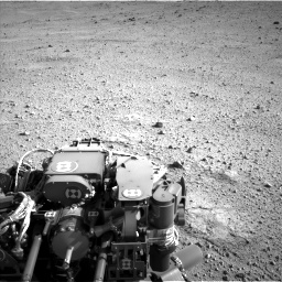 Nasa's Mars rover Curiosity acquired this image using its Left Navigation Camera on Sol 424, at drive 962, site number 19
