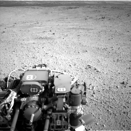Nasa's Mars rover Curiosity acquired this image using its Left Navigation Camera on Sol 424, at drive 998, site number 19