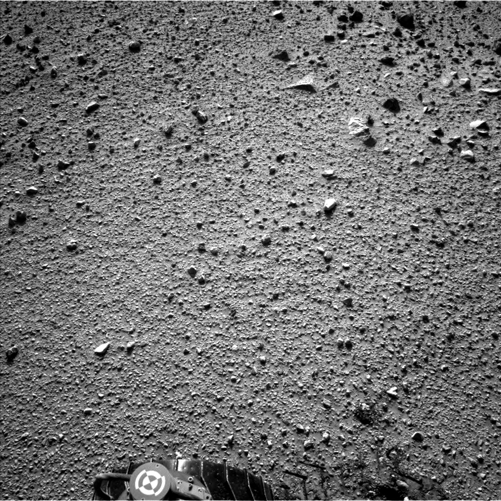 Nasa's Mars rover Curiosity acquired this image using its Left Navigation Camera on Sol 424, at drive 1066, site number 19