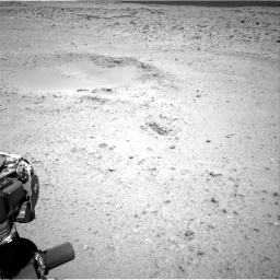 Nasa's Mars rover Curiosity acquired this image using its Right Navigation Camera on Sol 424, at drive 512, site number 19