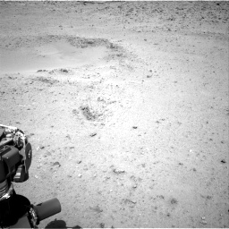 Nasa's Mars rover Curiosity acquired this image using its Right Navigation Camera on Sol 424, at drive 530, site number 19