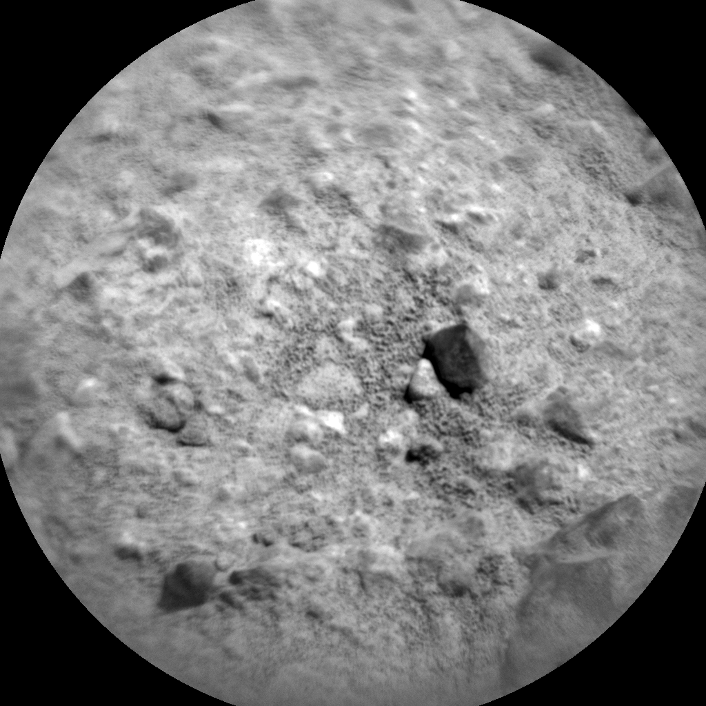 Nasa's Mars rover Curiosity acquired this image using its Chemistry & Camera (ChemCam) on Sol 424, at drive 320, site number 19