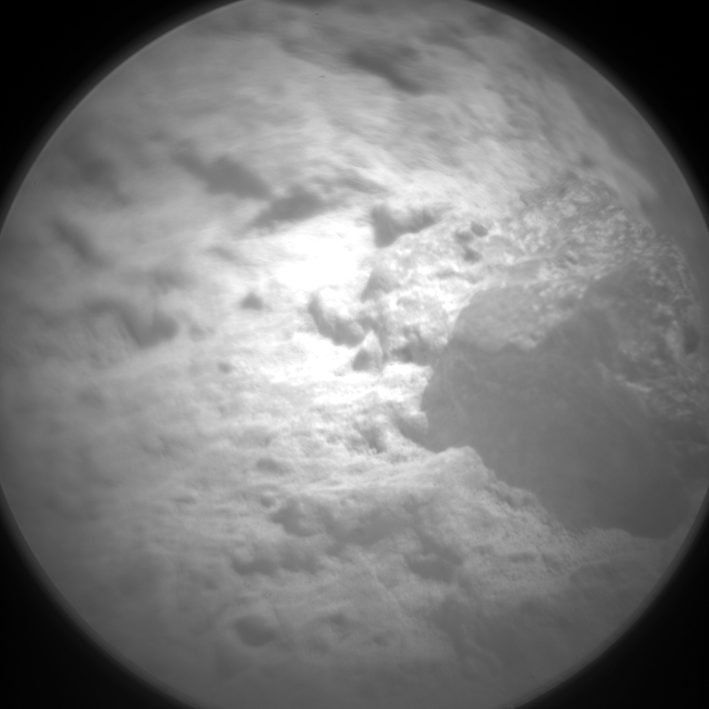 Nasa's Mars rover Curiosity acquired this image using its Chemistry & Camera (ChemCam) on Sol 426, at drive 1066, site number 19