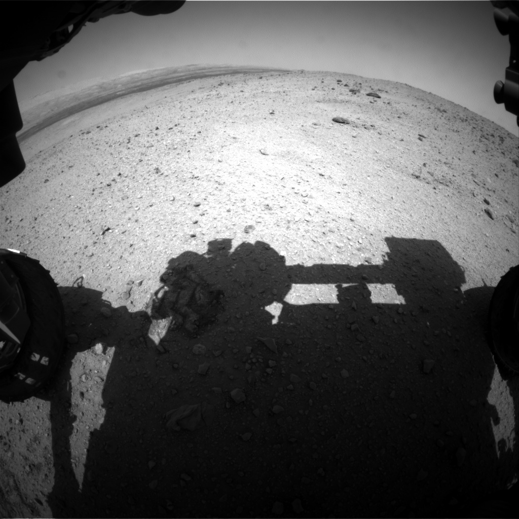 NASA's Mars rover Curiosity acquired this image using its Front Hazard Avoidance Cameras (Front Hazcams) on Sol 426