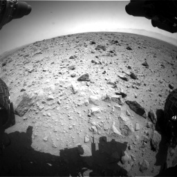 Nasa's Mars rover Curiosity acquired this image using its Front Hazard Avoidance Camera (Front Hazcam) on Sol 426, at drive 1228, site number 19