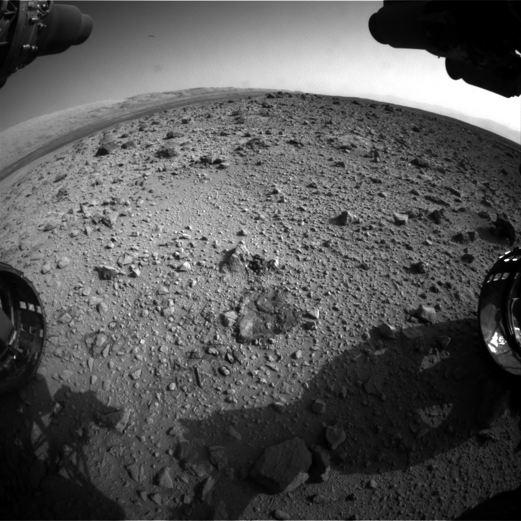 Nasa's Mars rover Curiosity acquired this image using its Front Hazard Avoidance Camera (Front Hazcam) on Sol 426, at drive 0, site number 20