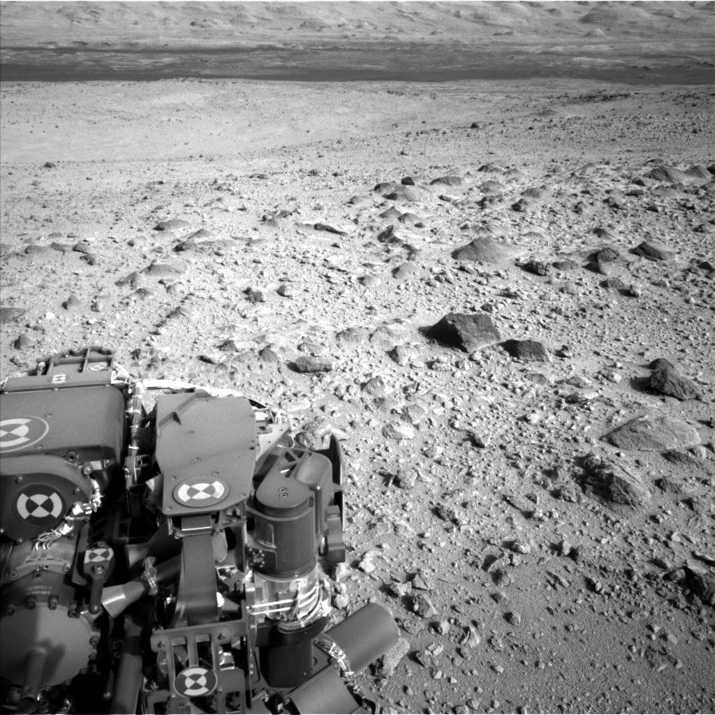 Nasa's Mars rover Curiosity acquired this image using its Left Navigation Camera on Sol 426, at drive 0, site number 20