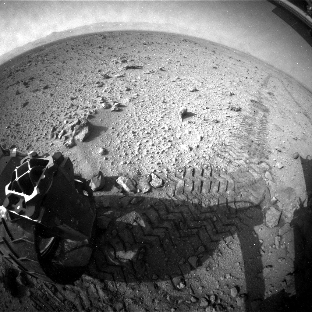 NASA's Mars rover Curiosity acquired this image using its Rear Hazard Avoidance Cameras (Rear Hazcams) on Sol 426