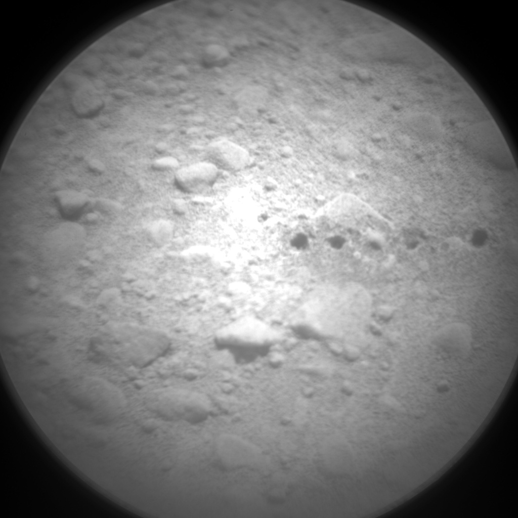 NASA's Mars rover Curiosity acquired this image using its Chemistry & Camera (ChemCam) on Sol 427