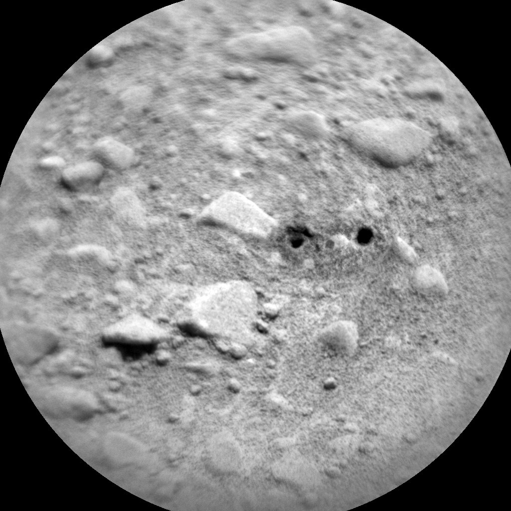 Nasa's Mars rover Curiosity acquired this image using its Chemistry & Camera (ChemCam) on Sol 427, at drive 0, site number 20