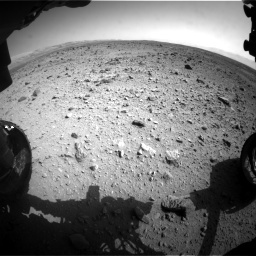 NASA's Mars rover Curiosity acquired this image using its Front Hazard Avoidance Cameras (Front Hazcams) on Sol 429