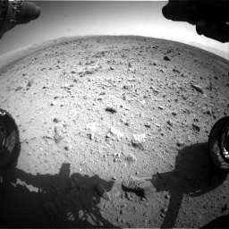 Nasa's Mars rover Curiosity acquired this image using its Front Hazard Avoidance Camera (Front Hazcam) on Sol 429, at drive 246, site number 20
