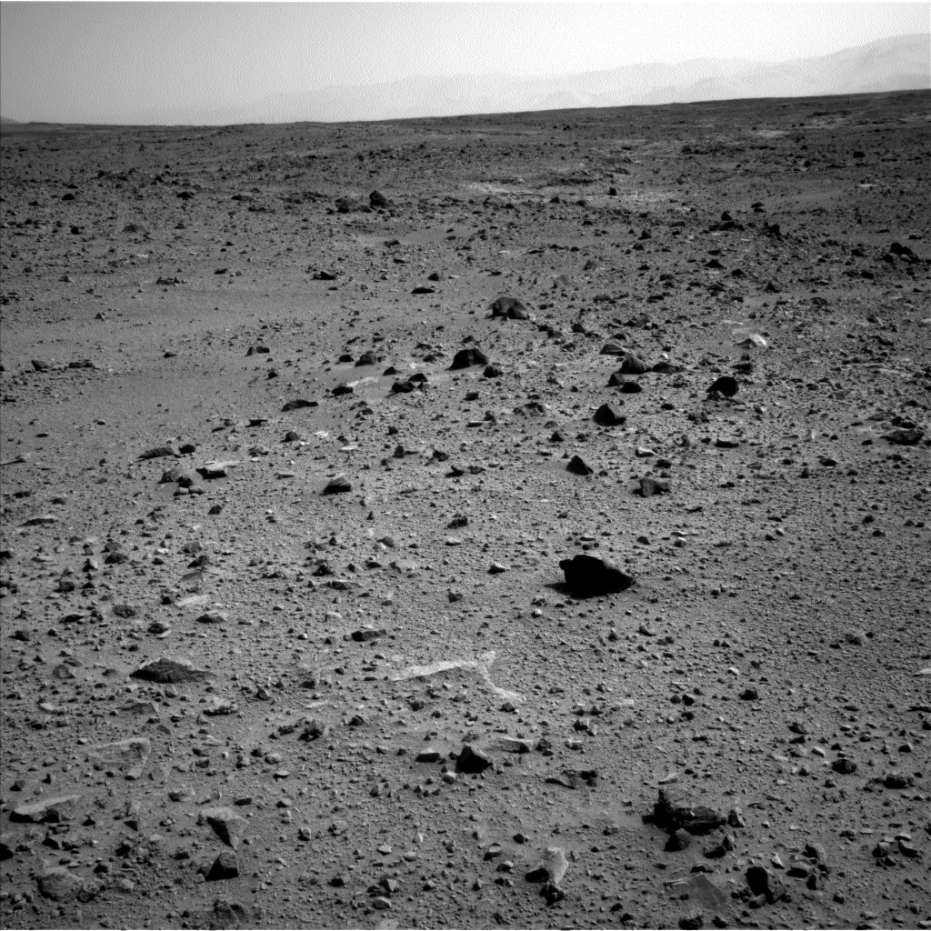 NASA's Mars rover Curiosity acquired this image using its Left Navigation Camera (Navcams) on Sol 429