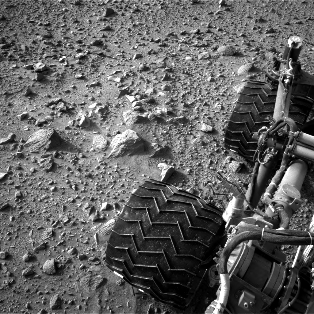 Nasa's Mars rover Curiosity acquired this image using its Left Navigation Camera on Sol 429, at drive 256, site number 20