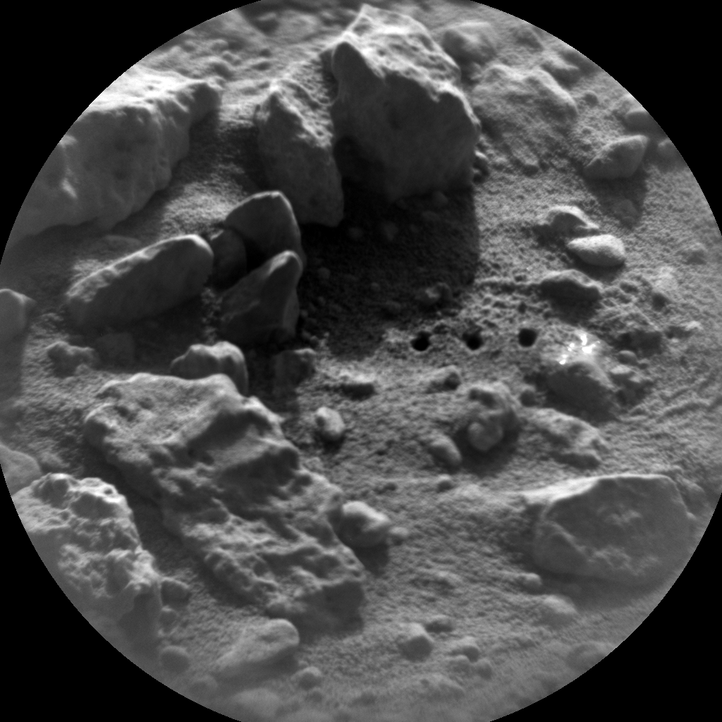 Nasa's Mars rover Curiosity acquired this image using its Chemistry & Camera (ChemCam) on Sol 430, at drive 256, site number 20