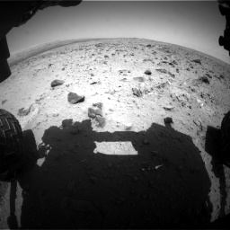 Nasa's Mars rover Curiosity acquired this image using its Front Hazard Avoidance Camera (Front Hazcam) on Sol 431, at drive 430, site number 20