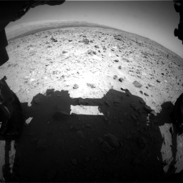 Nasa's Mars rover Curiosity acquired this image using its Front Hazard Avoidance Camera (Front Hazcam) on Sol 431, at drive 484, site number 20