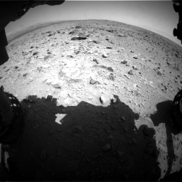 Nasa's Mars rover Curiosity acquired this image using its Front Hazard Avoidance Camera (Front Hazcam) on Sol 431, at drive 544, site number 20