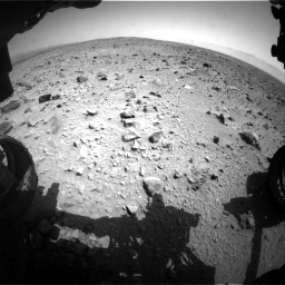 Nasa's Mars rover Curiosity acquired this image using its Front Hazard Avoidance Camera (Front Hazcam) on Sol 431, at drive 628, site number 20