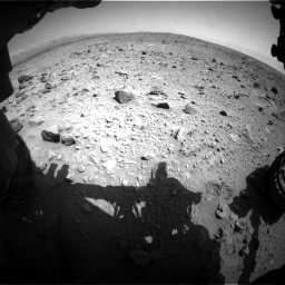 Nasa's Mars rover Curiosity acquired this image using its Front Hazard Avoidance Camera (Front Hazcam) on Sol 431, at drive 646, site number 20