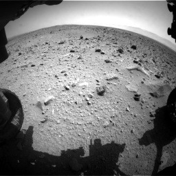 Nasa's Mars rover Curiosity acquired this image using its Front Hazard Avoidance Camera (Front Hazcam) on Sol 431, at drive 664, site number 20