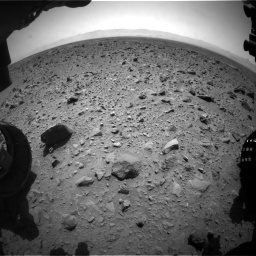 Nasa's Mars rover Curiosity acquired this image using its Front Hazard Avoidance Camera (Front Hazcam) on Sol 431, at drive 706, site number 20