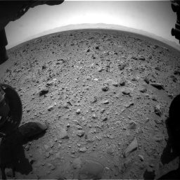 Nasa's Mars rover Curiosity acquired this image using its Front Hazard Avoidance Camera (Front Hazcam) on Sol 431, at drive 712, site number 20