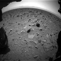 Nasa's Mars rover Curiosity acquired this image using its Front Hazard Avoidance Camera (Front Hazcam) on Sol 431, at drive 748, site number 20