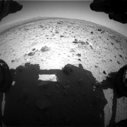 Nasa's Mars rover Curiosity acquired this image using its Front Hazard Avoidance Camera (Front Hazcam) on Sol 431, at drive 454, site number 20