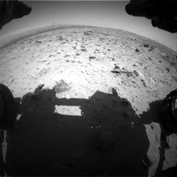 Nasa's Mars rover Curiosity acquired this image using its Front Hazard Avoidance Camera (Front Hazcam) on Sol 431, at drive 460, site number 20