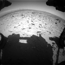 Nasa's Mars rover Curiosity acquired this image using its Front Hazard Avoidance Camera (Front Hazcam) on Sol 431, at drive 472, site number 20