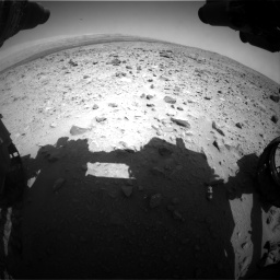 Nasa's Mars rover Curiosity acquired this image using its Front Hazard Avoidance Camera (Front Hazcam) on Sol 431, at drive 478, site number 20